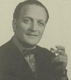 Julianus Leonardus Slaterus; artiestennaam Jules Seron. Bron: 't Kleine Krantsje