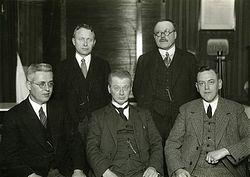 Foto in Leeuwarder Courant van 05-11-1932.