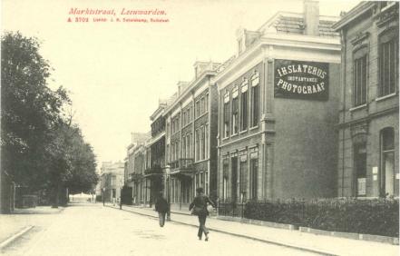 Lange Markstraat (Bron: Beeldbank Leeuwarden)