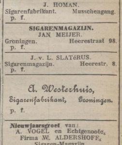 Nieuwsblad van het Noorden, 01-01-1910