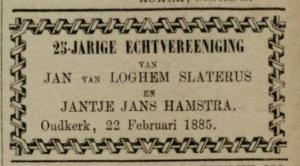 Leeuwarder Courant, 19-02-1885