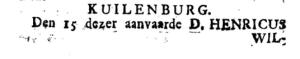 Boekzaal 1745 voor
