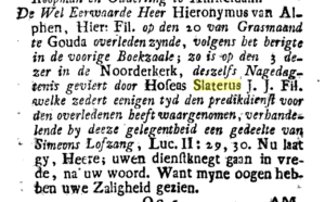 Boekzaal der geleerde wereld, deel 86, mei 1758, pag 659.