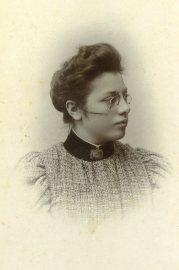 Pietje Petronella (Nel) Slaterus. Foto genomen door haar vader ca. 1985