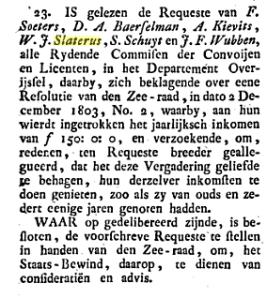 Staatsbewind 1804
