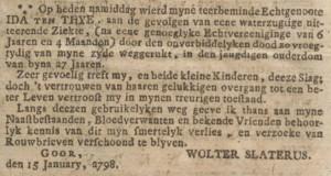 Oprechte Haarlemse courant, 23-01-1798