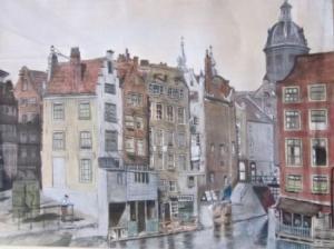 Jules Seron Amsterdams stadsgezicht 1938