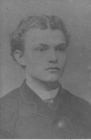 Willem Philippus Slaterus, 1888. (Foto van foto in Album Jules Seron)