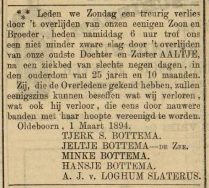 Leeuwarder Courant 05-03-1894
