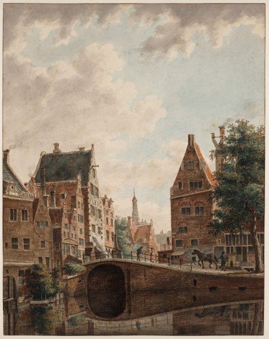 Zuiderkerk met Oude Turfmarkt 2